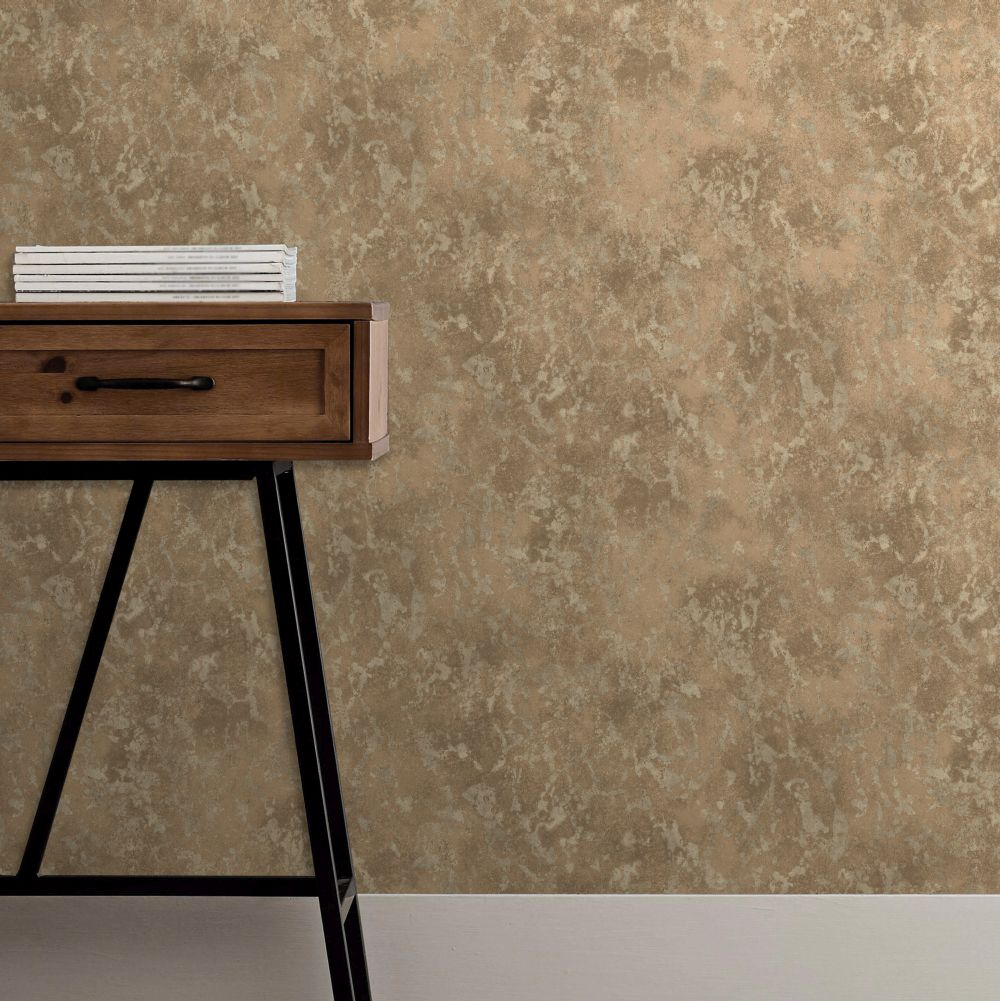 Albany Marble Copper Wallpaper - Product code: CB41003