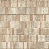 Albany Small Metallic Wood Copper Wallpaper - Product code: CB41025