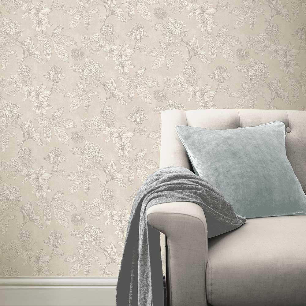 Arthouse Botanic Natural Wallpaper - Product code: 902701