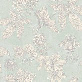 Arthouse Botanic Soft Teal Wallpaper