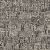 Albany Small Cork Black Wallpaper