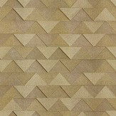 Albany Triangle Gold Wallpaper - Product code: C88601