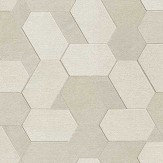 Albany Polygon Beige Wallpaper - Product code: C88604