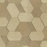 Albany Polygon Gold Wallpaper - Product code: C88602