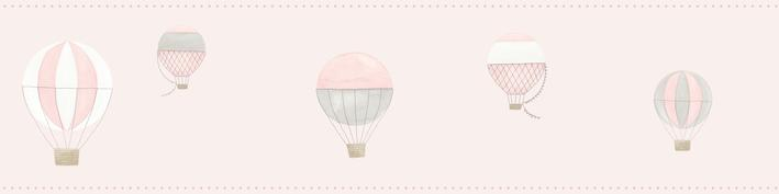 Casadeco Air Balloon Border Pink - Product code: 29784325