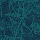 Cole & Son Cow Parsley Viridian Fabric - Product code: F111/5015