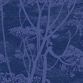 Cole & Son Cow Parsley Ink Fabric