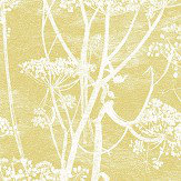 Cole & Son Cow Parsley Gold Fabric