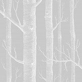 Cole & Son Woods Soft Grey Fabric