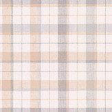 Galerie Country Check Beige / Purple Wallpaper