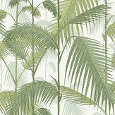 Cole & Son Palm Jungle Leaf Green / Olive Fabric