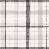 Galerie Country Check Black / Grey Wallpaper