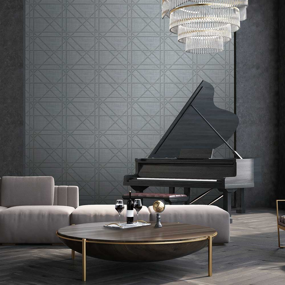 Albany Facade Grey Wallpaper - Product code: C88635