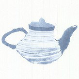 Galerie Tea Time Blue Wallpaper