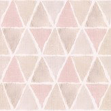 Galerie Triangle Tile Pink / Brown / Grey Wallpaper - Product code: CK36636