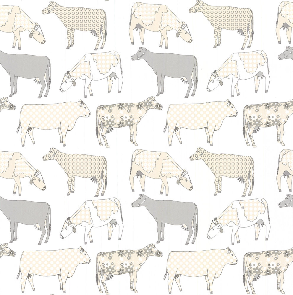 Galerie Decorative Cows Butterscotch Wallpaper - Product code: KE29952
