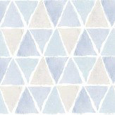 Galerie Triangle Tile Blue Wallpaper - Product code: CK36638