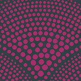 Cole & Son Feather Fan Magenta Fabric
