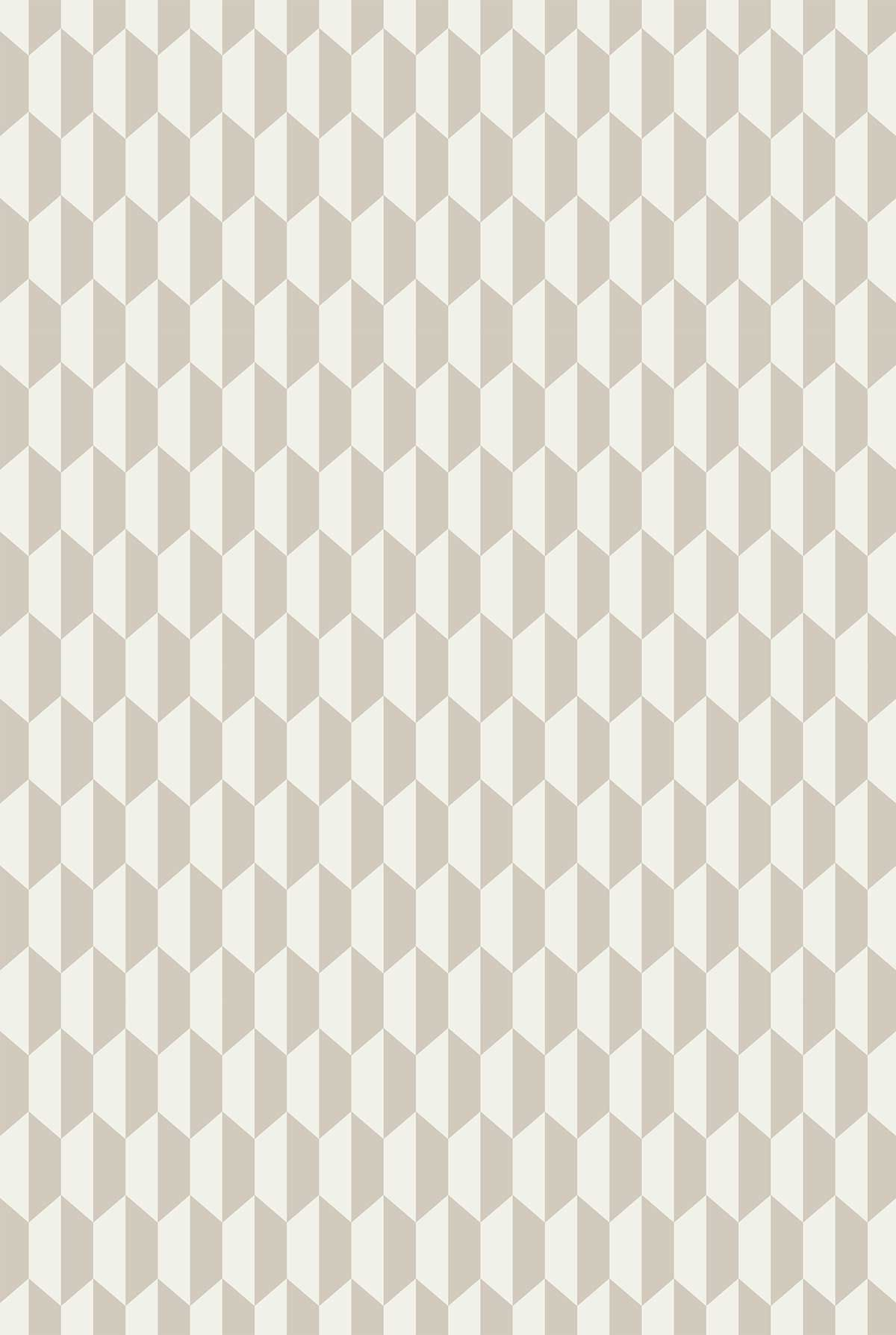 Cole & Son Tile Cream / Parchment Fabric - Product code: F111/9033