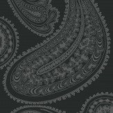 Cole & Son Rajapur Charcoal Fabric