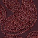 Cole & Son Rajapur Rouge Red Fabric