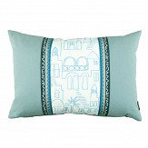 Villa Nova Teeny Santorini Cushion Aqua - Product code: VNC3312/02