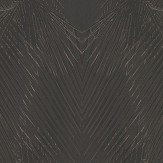 Roberto Cavalli Geometric Palm Black Wallpaper
