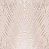 Roberto Cavalli Geometric Palm Off White and Taupe Wallpaper