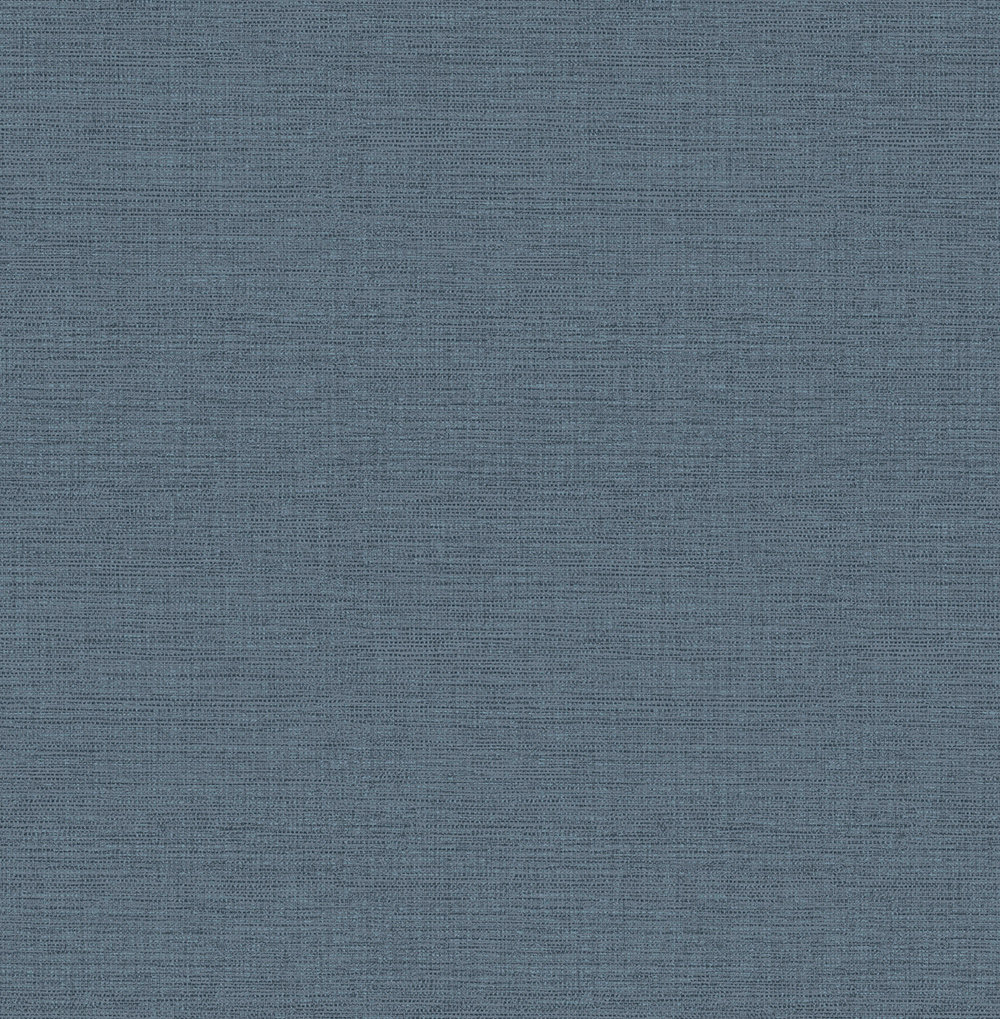 Albany Faux Grasscloth Navy Wallpaper - Product code: 25000
