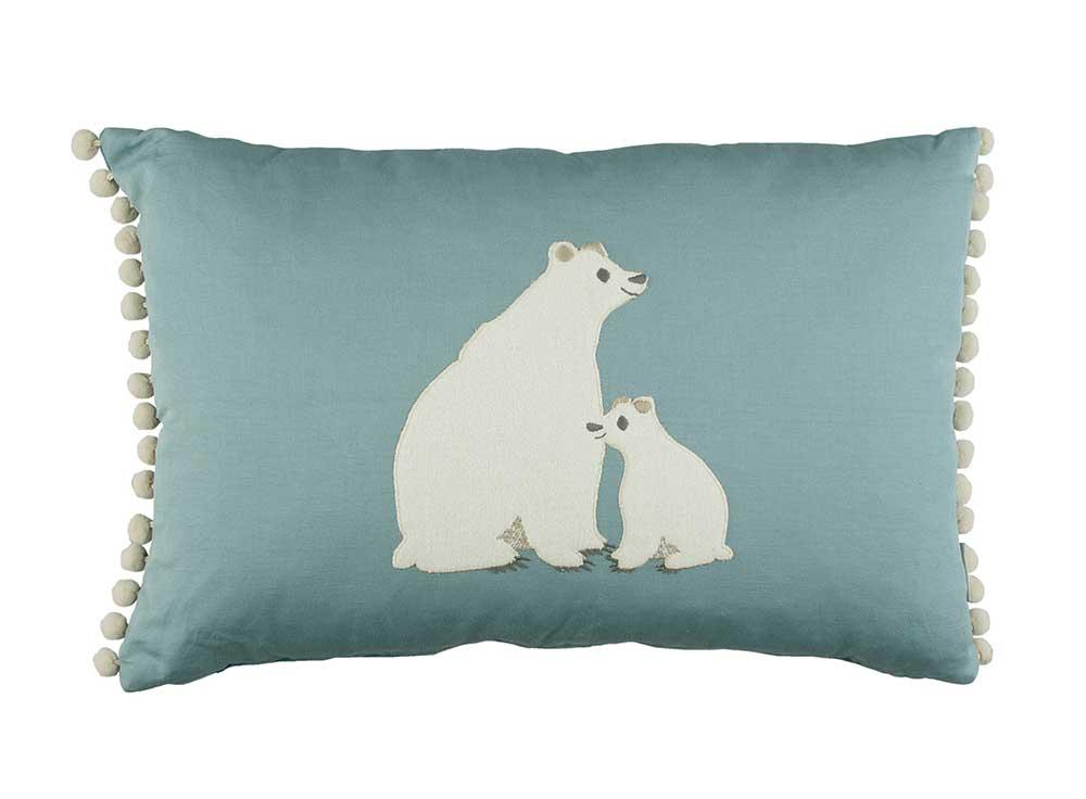 Villa Nova Bear Hug Cushion Blue - Product code: VNC3317/01