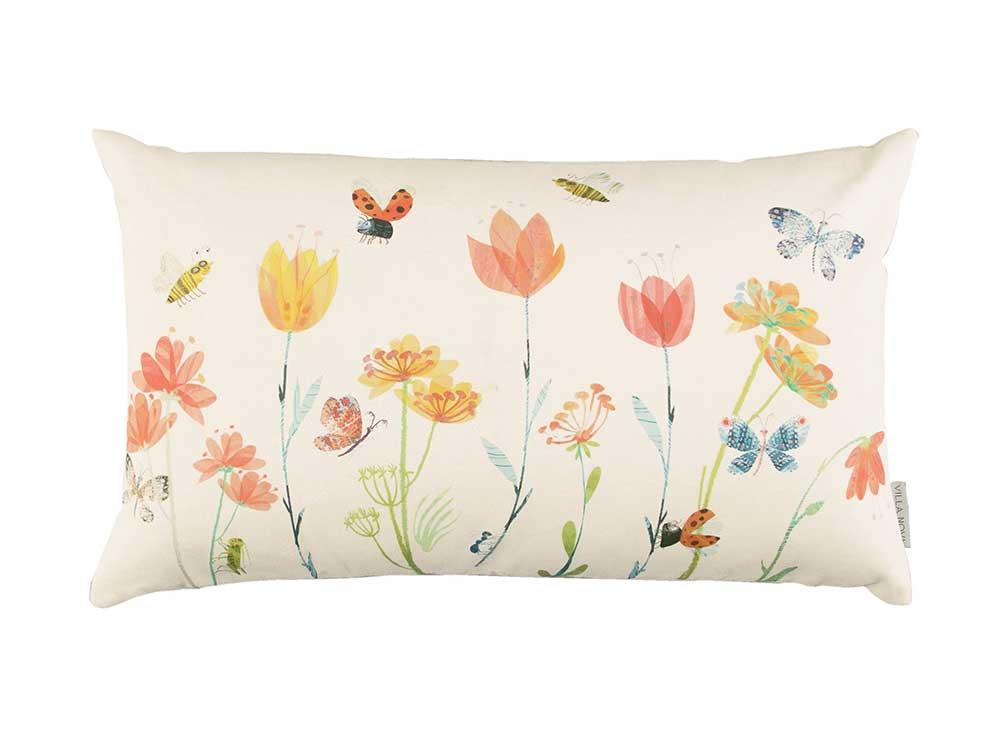 Busy Buzzy Cushion - Multi-coloured - by Villa Nova