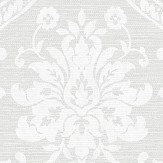 Albany Damask Grey Wallpaper