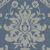 Albany Damask Navy Wallpaper - Product code: 25007