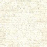 Albany Damask Cream Wallpaper