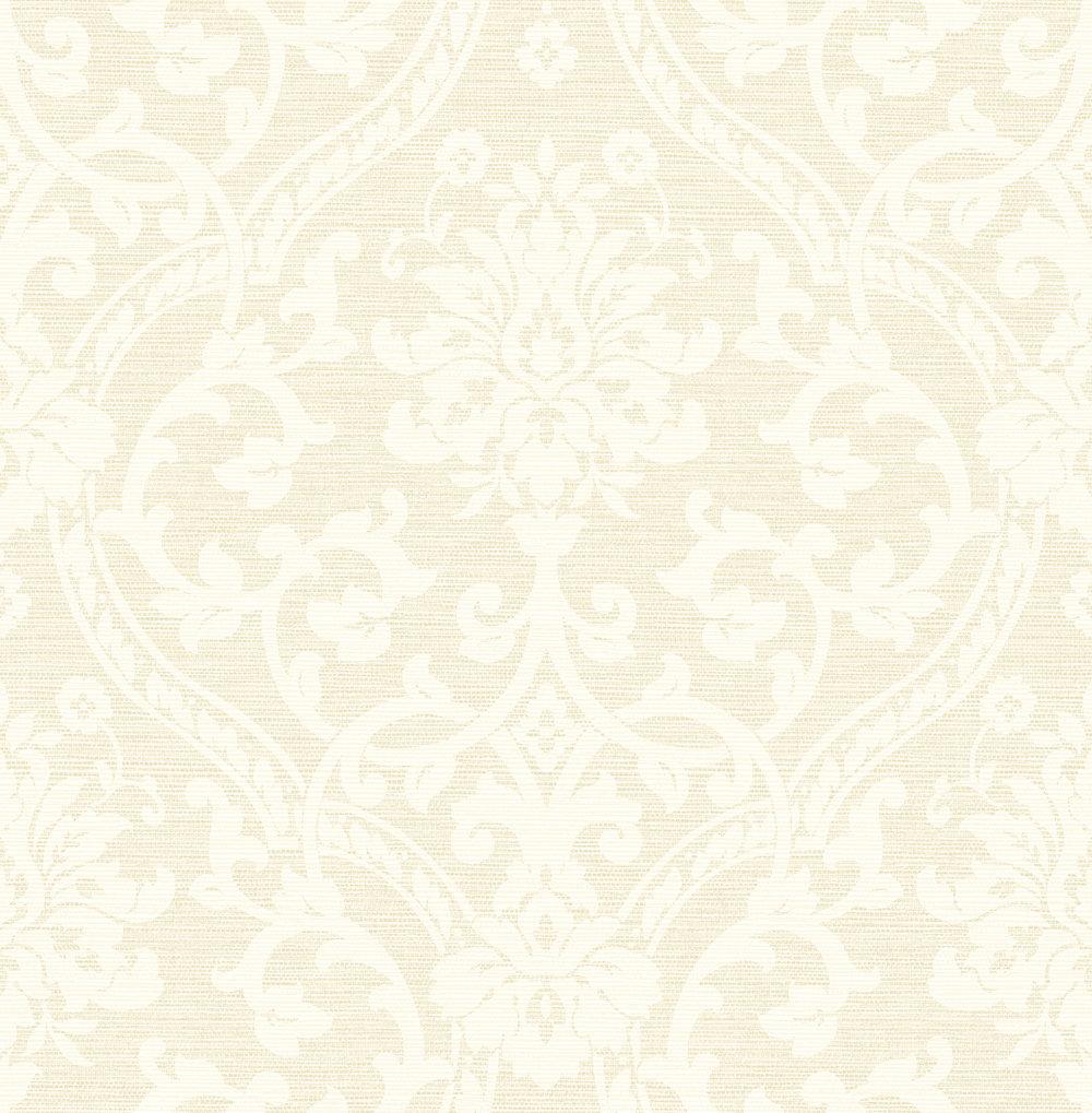 Albany Damask Cream Wallpaper - Product code: 25008
