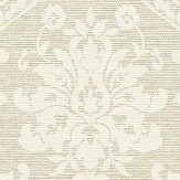 Albany Damask Natural Wallpaper