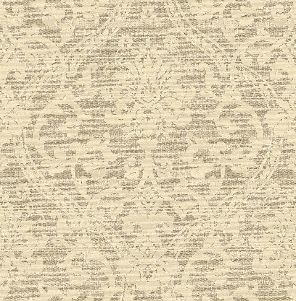 Albany Damask Dark Beige Wallpaper - Product code: 25010
