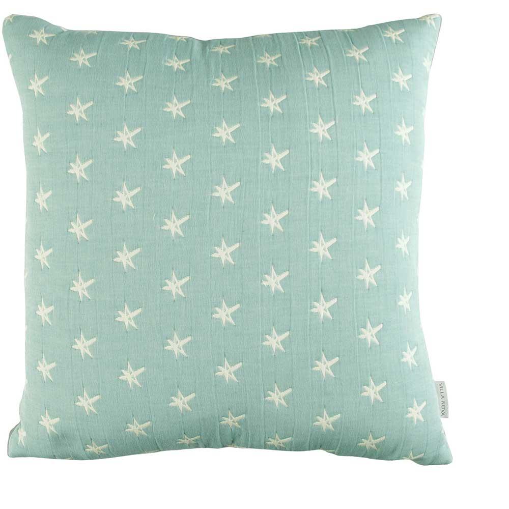 Starstruck Cushion - Aqua Blue - by Villa Nova