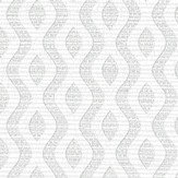 Albany Small Wave Geo Grey Wallpaper - Product code: 25015