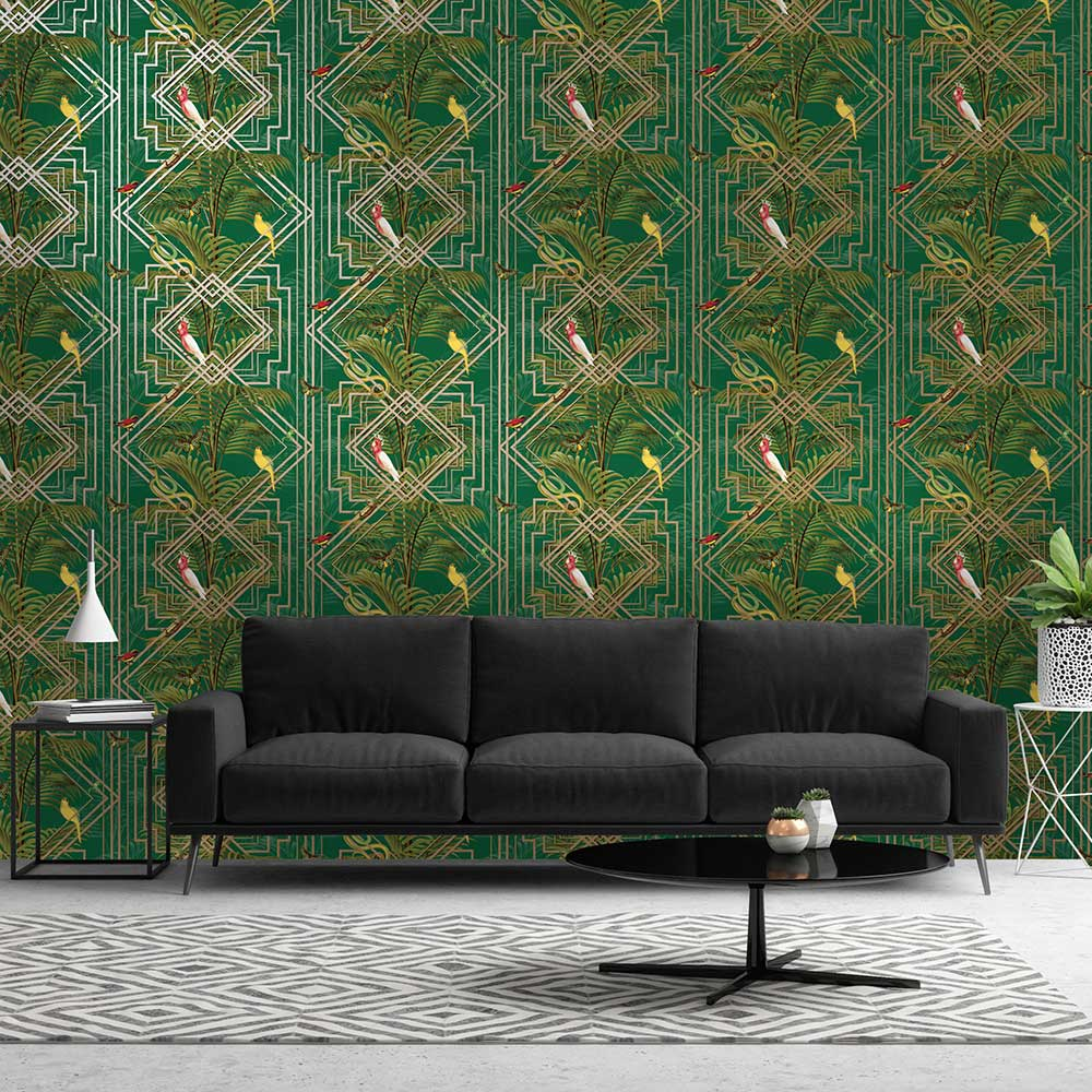Albany Amazon Green Wallpaper - Product code: 50211