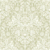 Albany Bexley Green Wallpaper