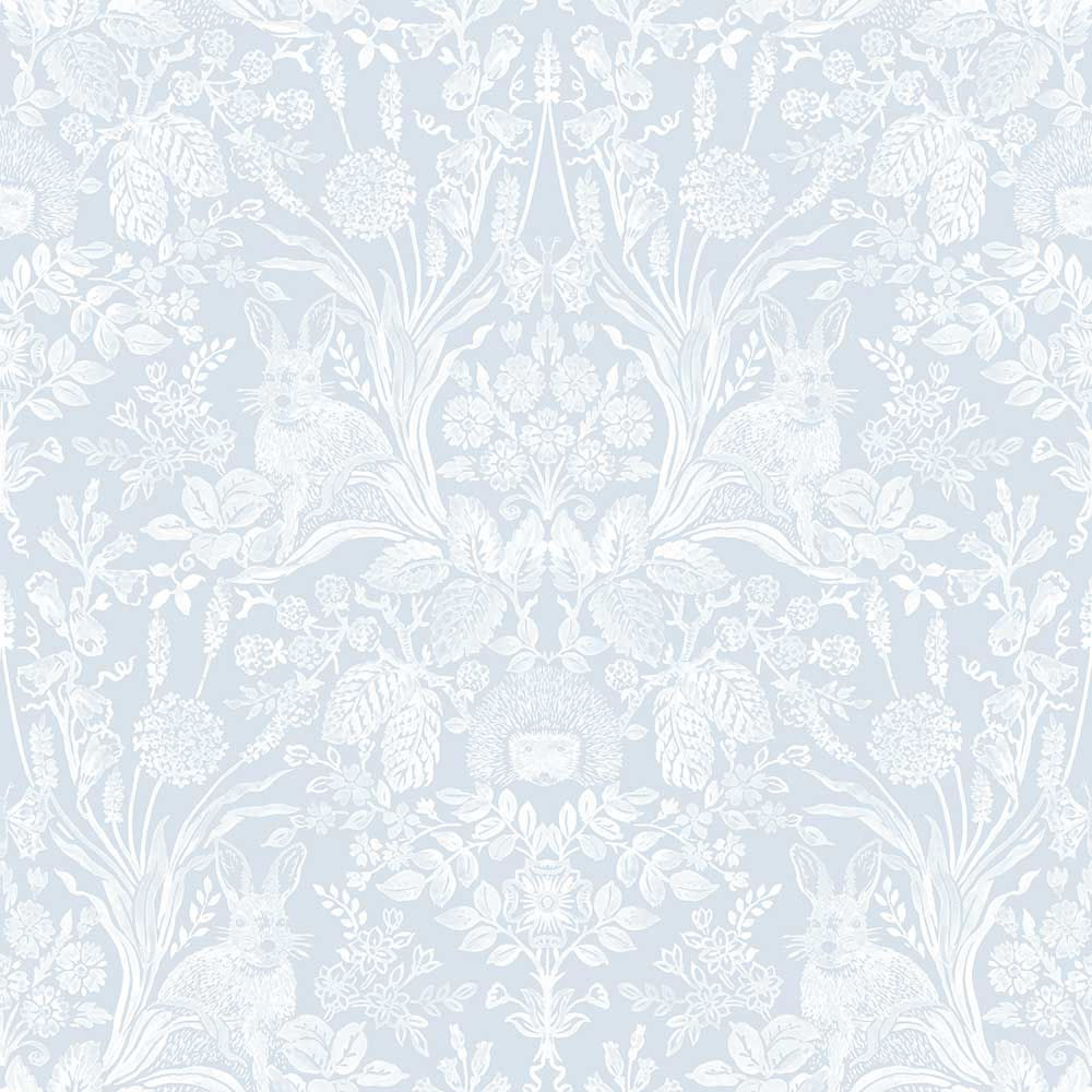 Albany Bexley Soft Blue Wallpaper main image