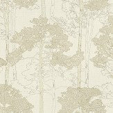 Albany Heavenly Tree Brown Wallpaper
