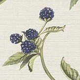 Albany Berry Trail Blue Wallpaper