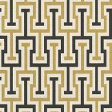 Albany Vanity Key Gold / Black Wallpaper