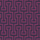 Albany Vanity Key Pink / Purple Wallpaper