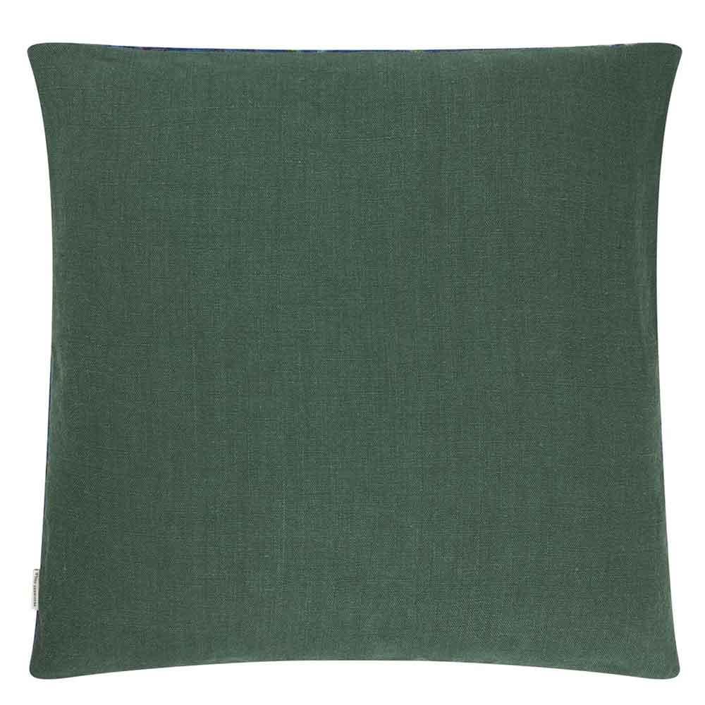 Kashmiri Cushion - Cobalt - by Designers Guild