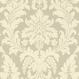 Albany Damask Beige Wallpaper