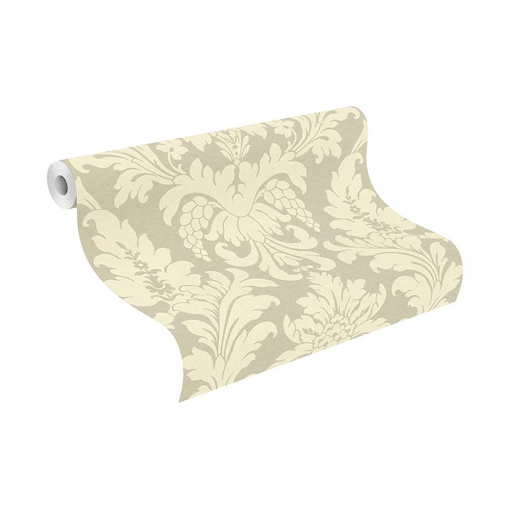 Albany Damask Beige Wallpaper - Product code: 525427