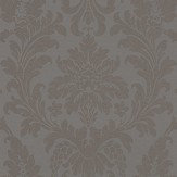 Albany Damask Taupe Wallpaper